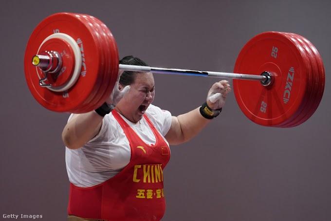 Li Ven-ven több világcsúcsot is megjavított a súlyemelők Ázsia-bajnokságán