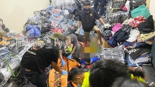 Detik-detik Penemuan Jenazah Satu Keluarga di Bawah Tumpukan Baju, Sempat Dilaporkan Hilang