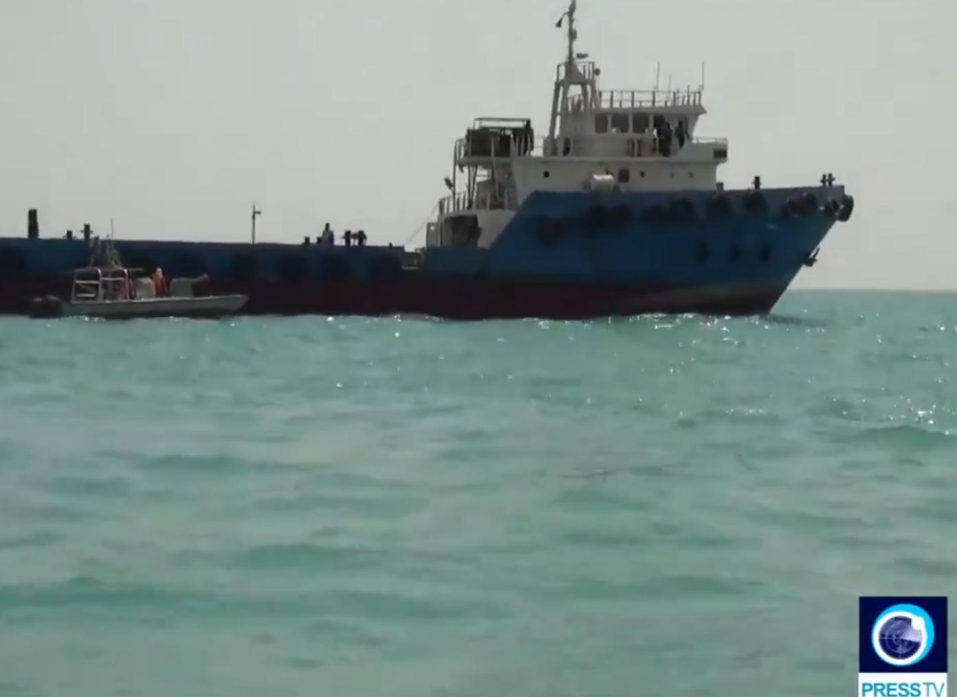 Irāna sagrābusi kārtējo tankkuģi