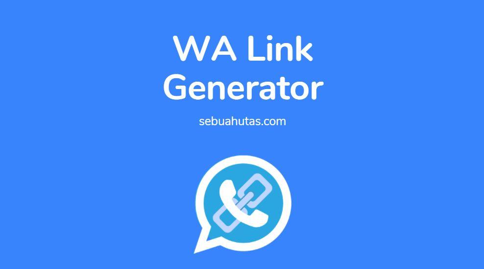 generator wa link