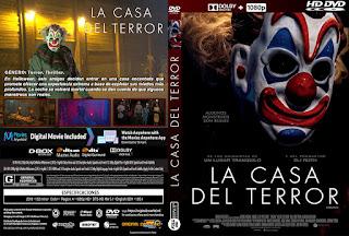 CARATULALA CASA DEL TERROR - HAUNT - 2019 [COVER - DVD]
