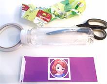 Etiquetas para botellas de agua personalizadas.