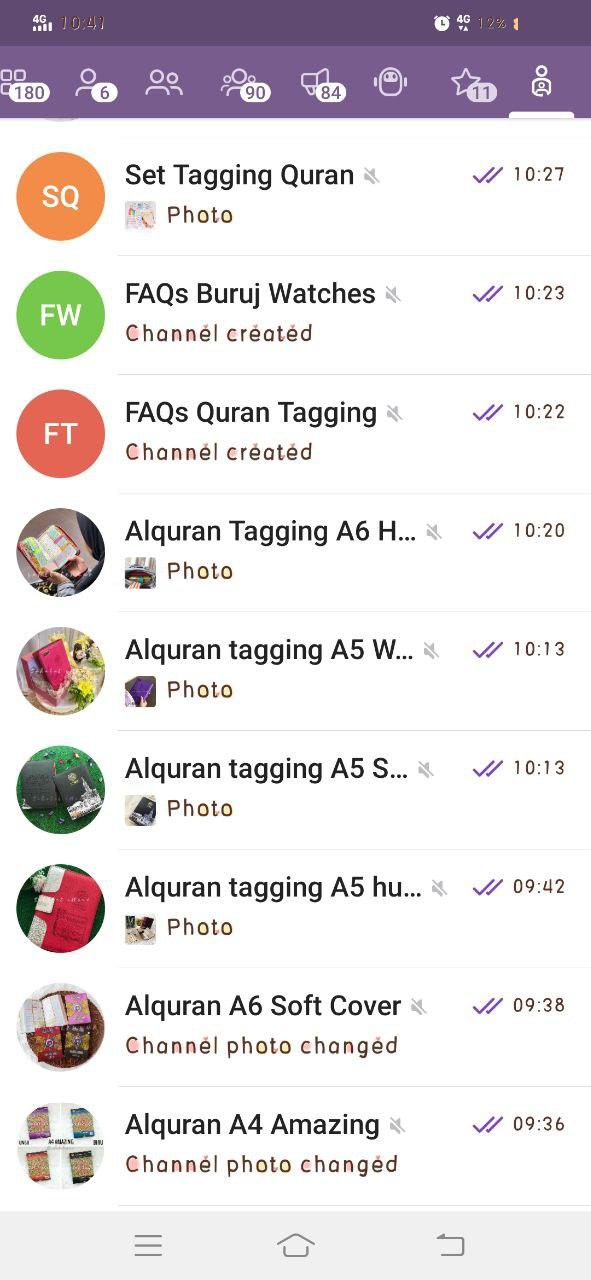 Link Channel Produk Al Quran Tagging Sahabat Enuur