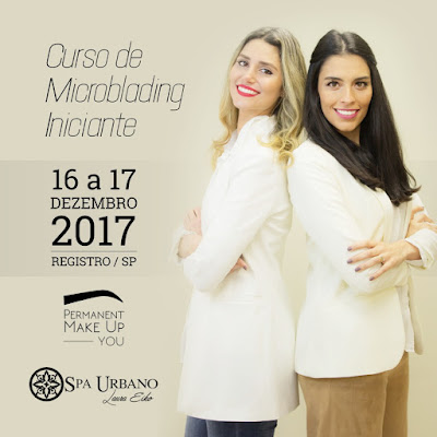 Curso de Microblading da Permanent Make Up You em parceria com Spa Urbano em Registro-SP