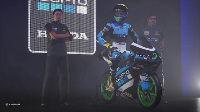 MotoGP 21 Presentación con nuestro equipo