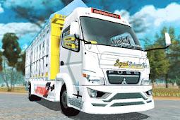 Livery Putih Mbois, Squad Balungan Kere Fixed ES Truck Simulator ID