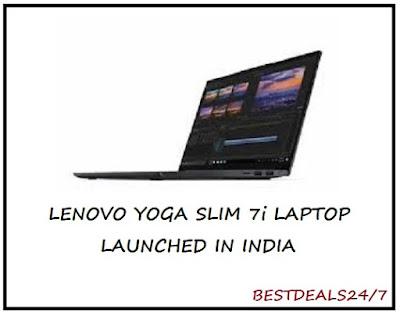 Lenovo Yoga Slim 7i Laptop Launched in India