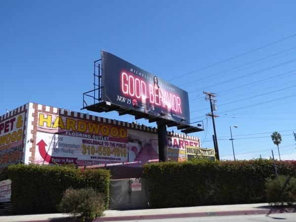 Good Behavior TV billboard