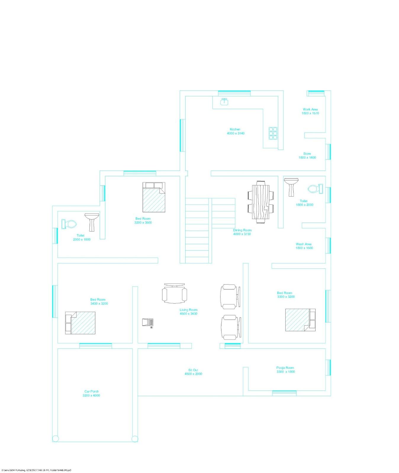 ENTE VEEDU: Kerala Style House Plan