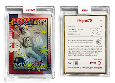Sket One is Giving Away a One of a Kind Buntee Resin Figure to Celebrate his TOPPS Project 70 Card!