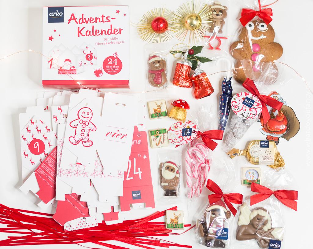 arko Häuschen Adventskalender zum Befüllen