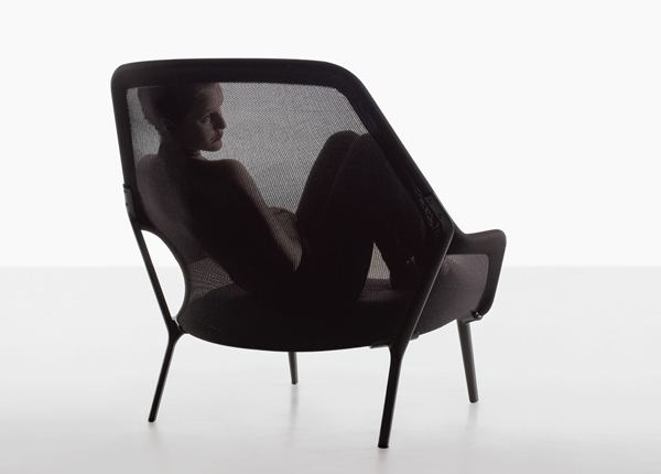 ronan erwan bouroullec slow chair vitra. Black Bedroom Furniture Sets. Home Design Ideas