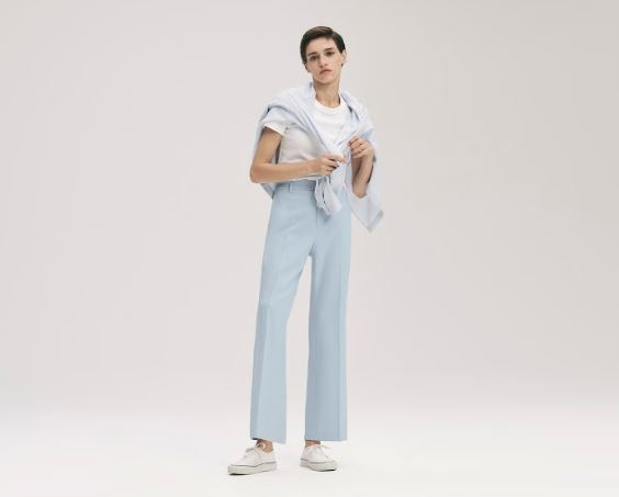 For casual days EZY ankle pants Uniqlo