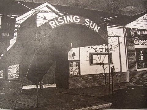 The Rising Sun rock club in Yonkers, New York