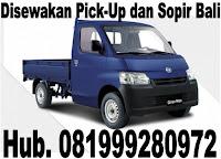 Menyewakan mobil pick up dan sopir  Bajera Tabanan Bali