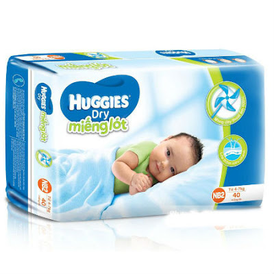 ta giay huggies newborn 2 logo