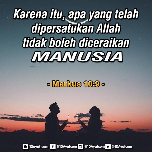 Markus 10:9