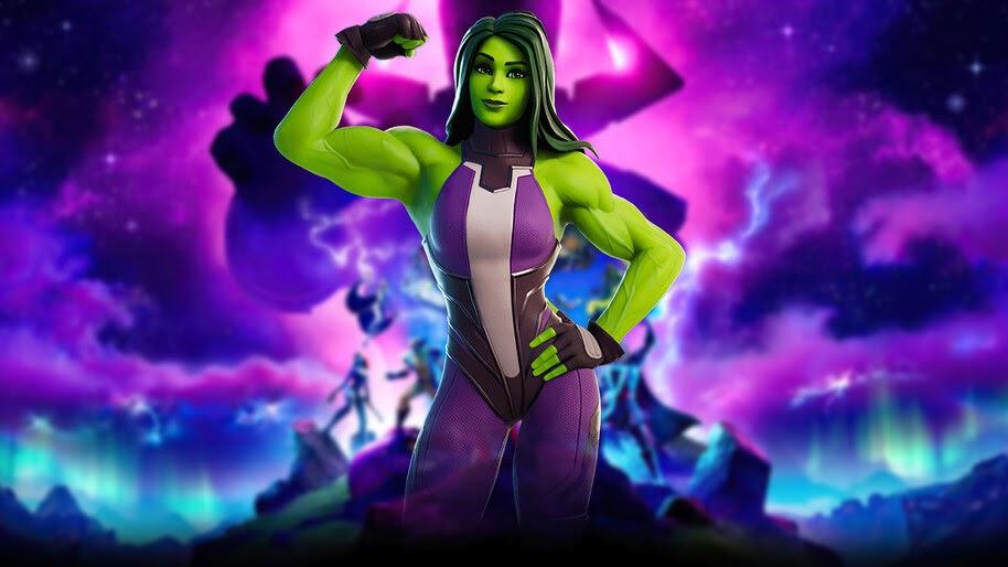 Fortnite, She-Hulk, Marvel, 4K, #7.2572