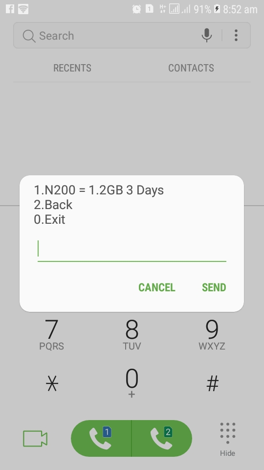How to  Get GLO 1.2GB For N200 And 6GB For N1000