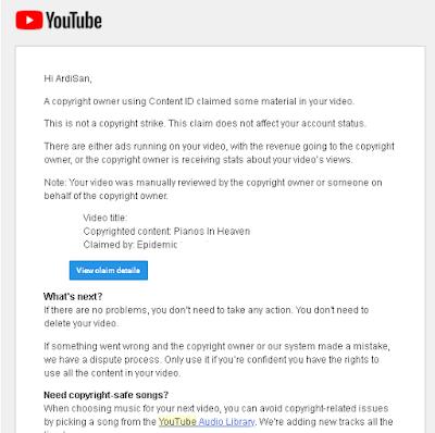 Ini Dia! Penyebab Video Kamu Terkena Copyright Di Youtube - hostze.net