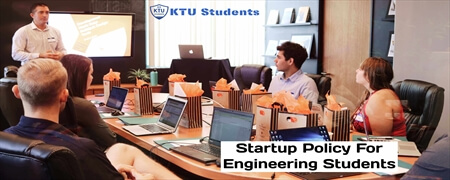 KTU Startup Policy For Engineering Students
