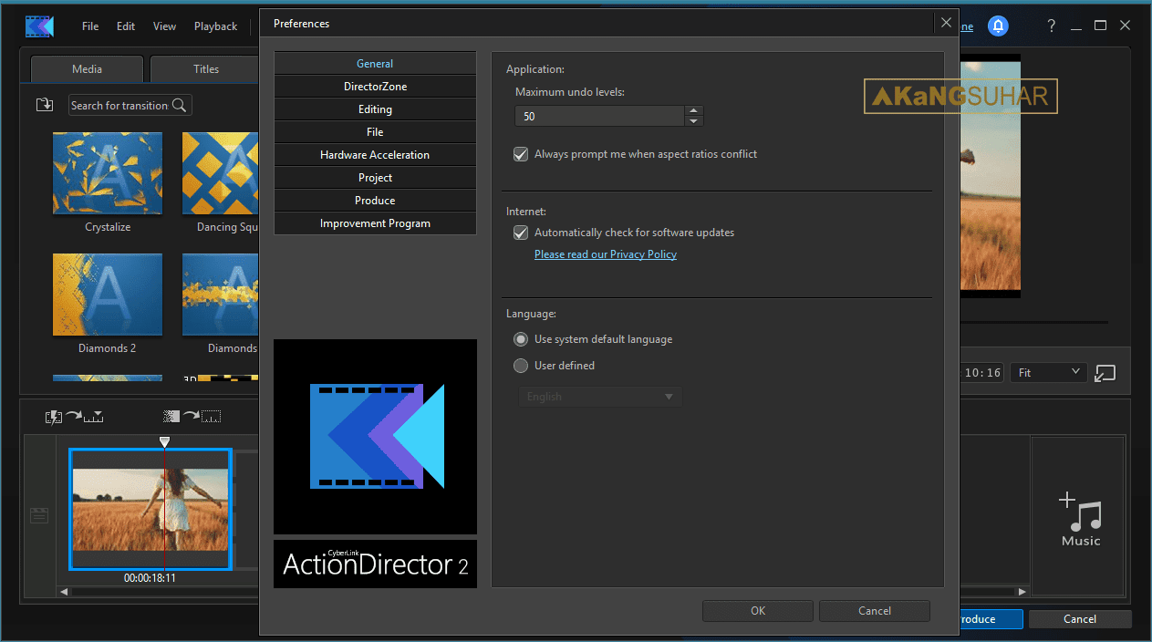 Download CyberLink ActionDirector Ultra 2.0.1216.0 Full Version