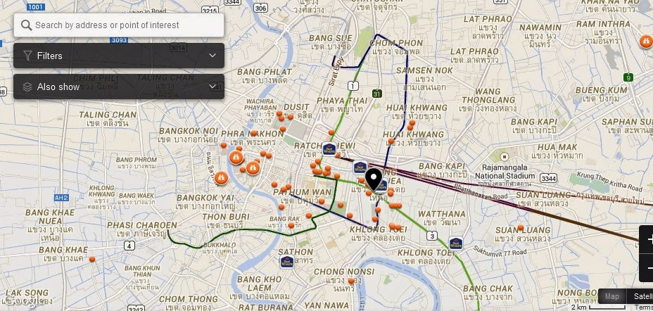 Lavana Bangkok Map,Map of Lavana Bangkok Thailand,Tourist Attractions in Bangkok Thailand,Things to do in Bangkok Thailand,Lavana Bangkok Thailand accommodation destinations attractions hotels map reviews photos pictures