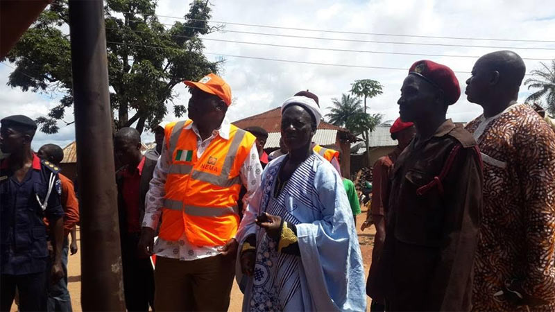 Photos: NEMA visits areas affected by earthquake in Kaduna