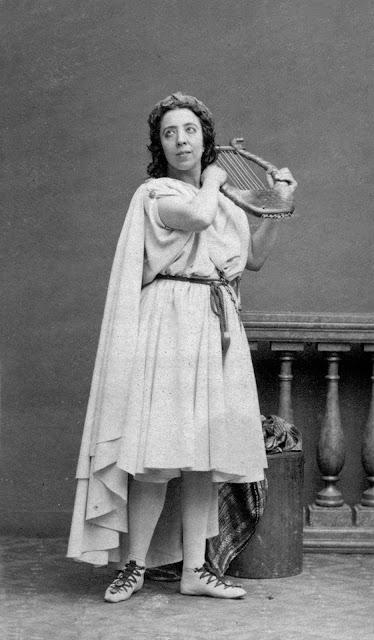 Pauline Viardot as Orpheus