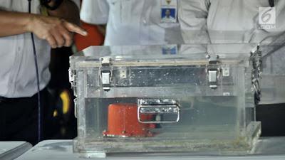 KNKT Akan Cari Sampai Dapat CVR Black Box Yang Hilang