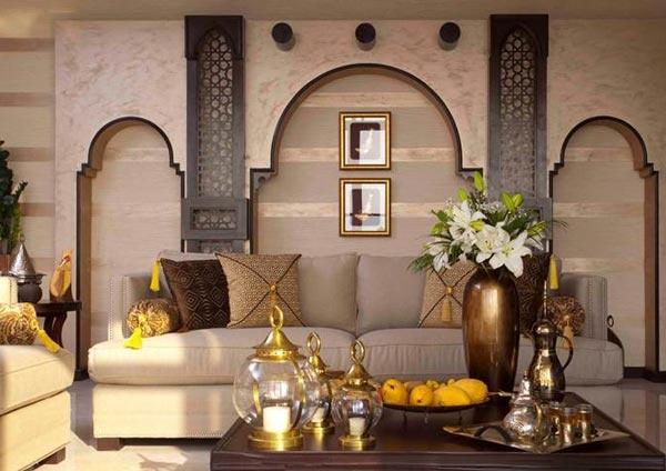 لمحة على أجمل الديكورات العربية الحديثة من نوعها (بالصور)