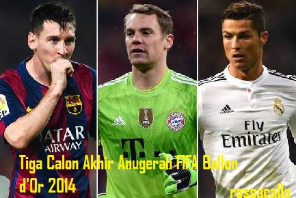 Anugerah FIFA Ballon d'Or 2014