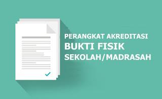 Download Bukti Fisik akreditasi 129 Butir SMA/MA 2019/2020 Sesuai Sispena