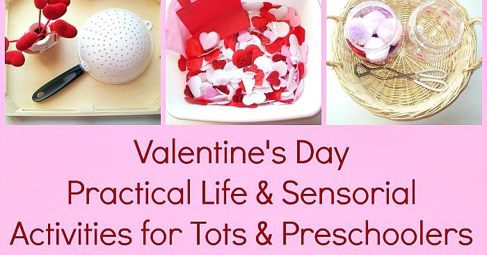 Valentine's Day Practical Life & Sensorial Activities for ...