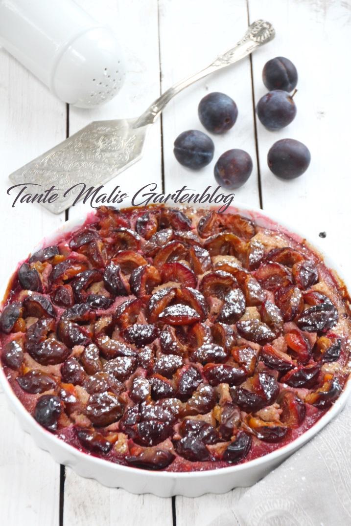 Saftiger, schneller und einfacher Pflaumenkuchen Rezept