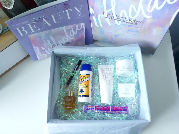 Beauty Box de Septembre by Lookfantastic !