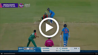 World T20 India vs Bangladesh Highlights