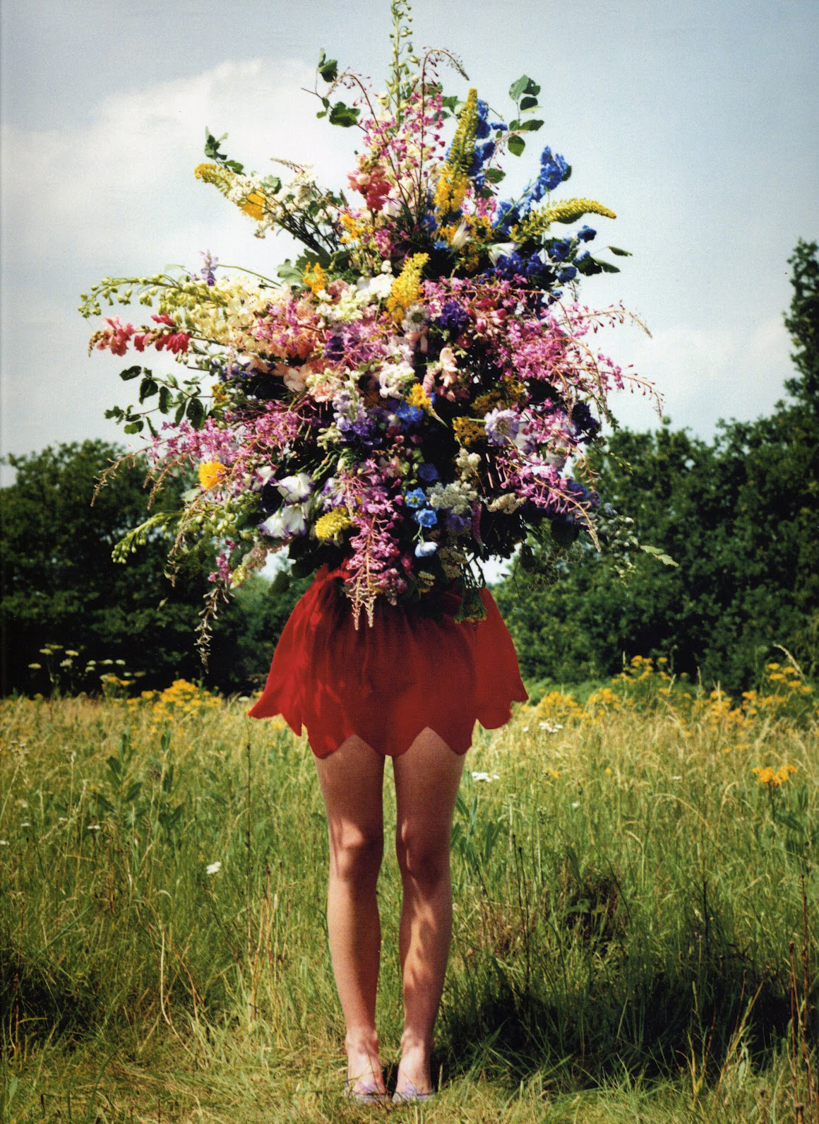 Siobhan Finnigan by Tim Walker - V&A Photography Exhibition