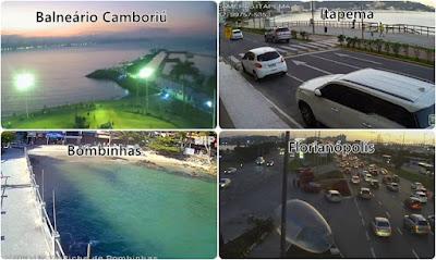 quatro cidades catarinenses na lista das mais procuradas pelos turistas