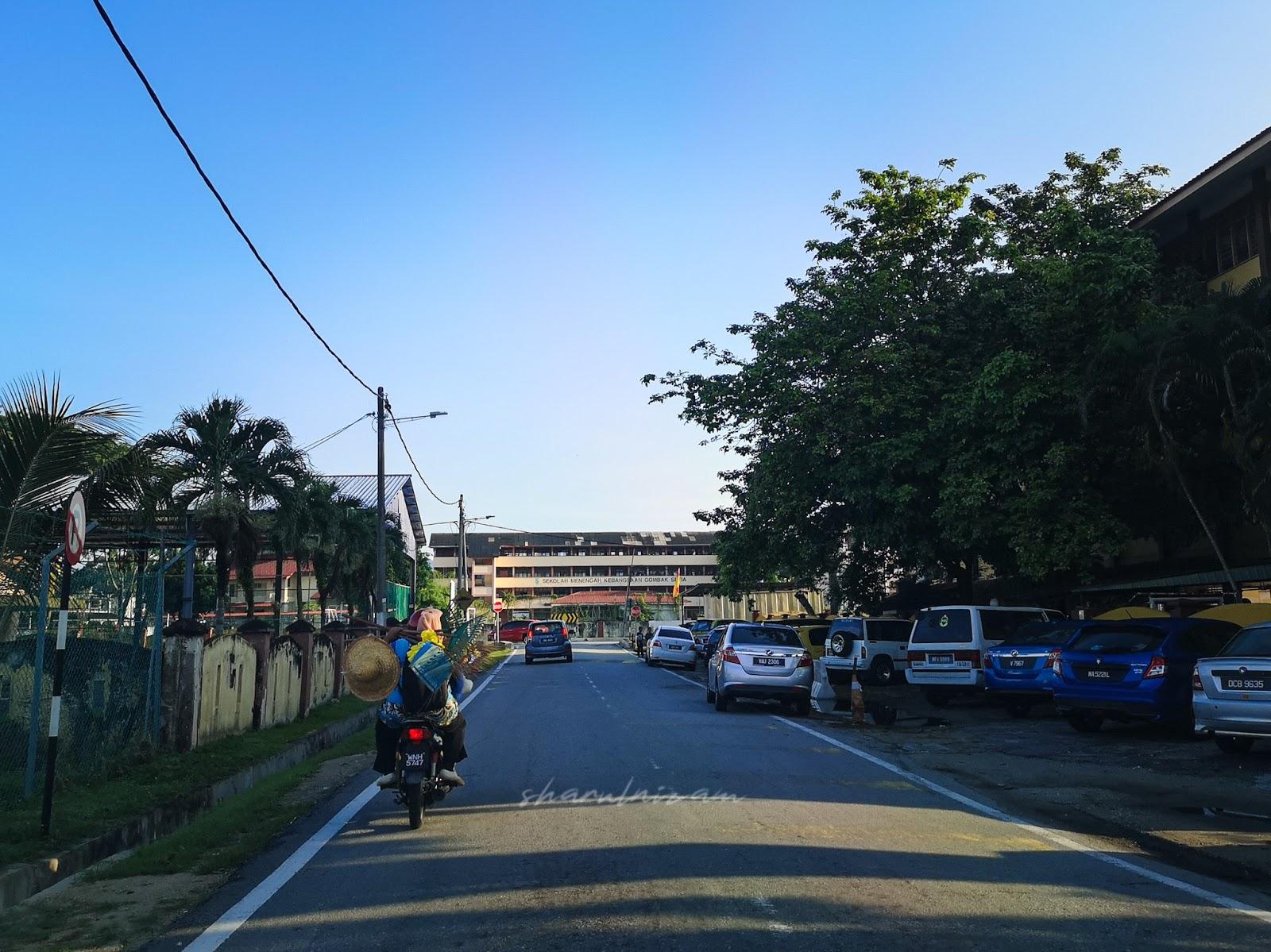 Pagi Sabtu di Pasar Tani Gombak Setia - lorong