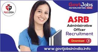 ASRB Administrative Officer