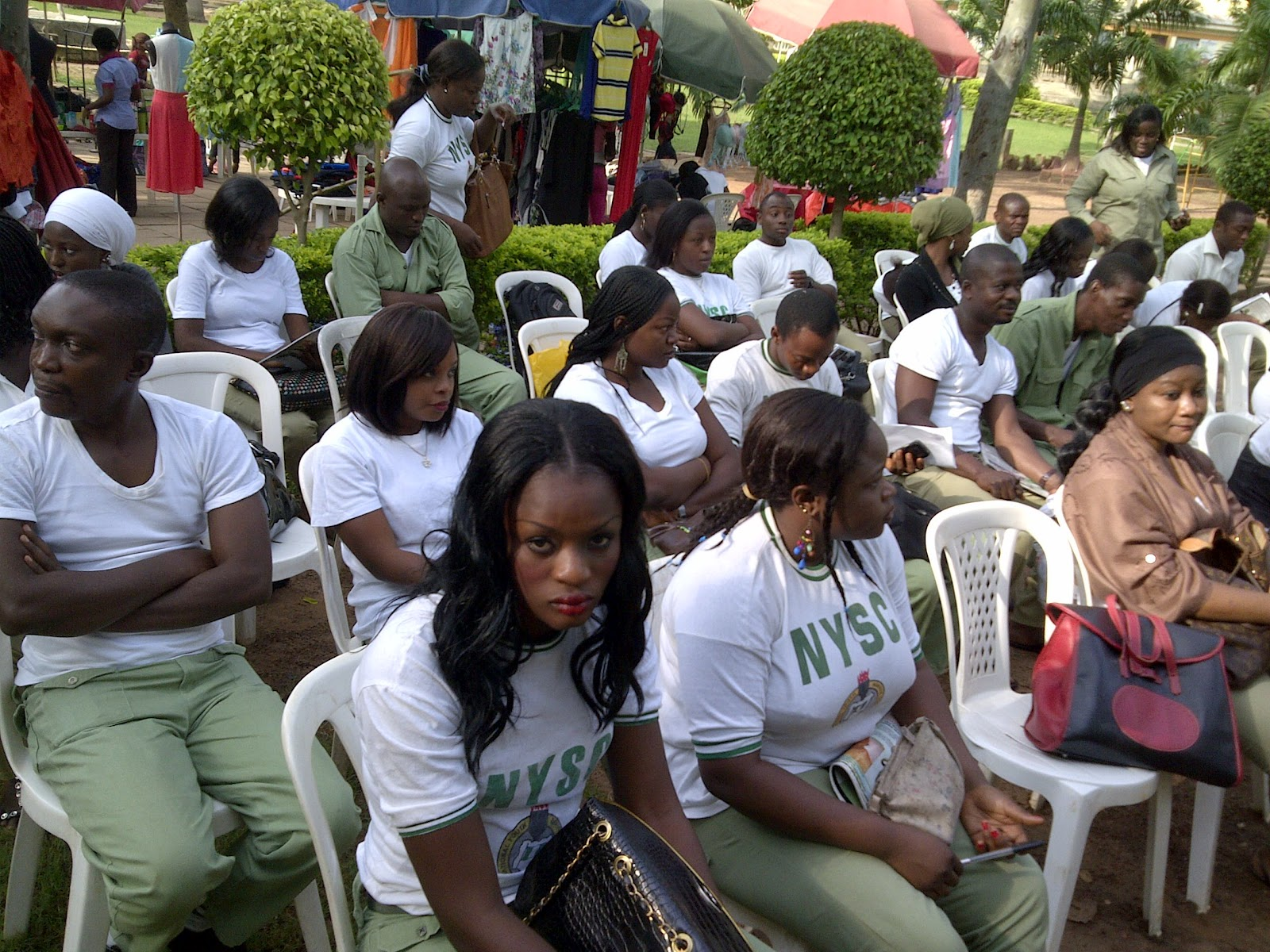 Image result for corpers at cds