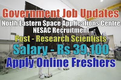NESAC Recruitment 2020