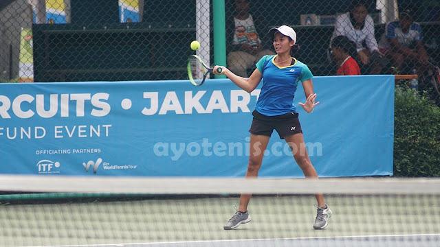 Taklukkan Unggulan, Deria Nur Haliza Melaju ke Final Kualifikasi Turnamen Tenis Pertamina 25K ITF Women's Circuit
