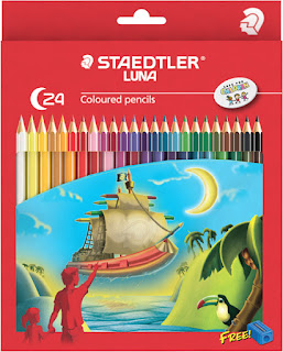 Staedtler Luna coloured pencils C-24