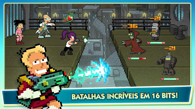 Futurama Worlds Of Tomorrow APK julho 4, 2017