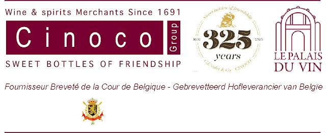 Cinoco, Fournisseur Breveté de la Cour de Belgique - Gebrevetteerd Hofleverancier van Belgïe
