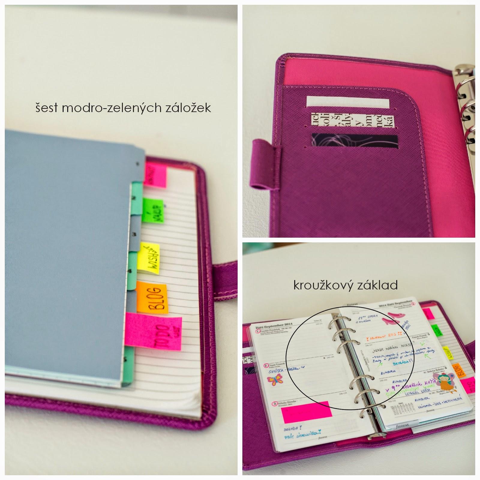filofax, můj život a plánování, time manager