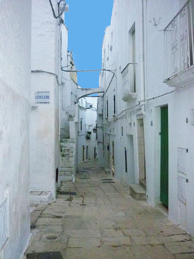 Case bianche in Puglia