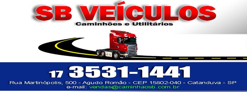Site Oficial - SB Veículos